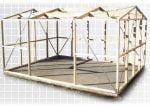 Duratuf Kiwi MK4A10m2 3876x2545 Garden Shed Framework