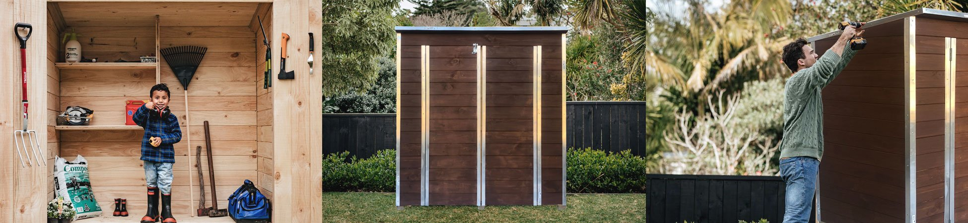 Laminata 1794mm x 885mm Timber Storage Shed