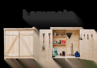 Garden Sheds NZ Laminata-Storage-Shed-Brand