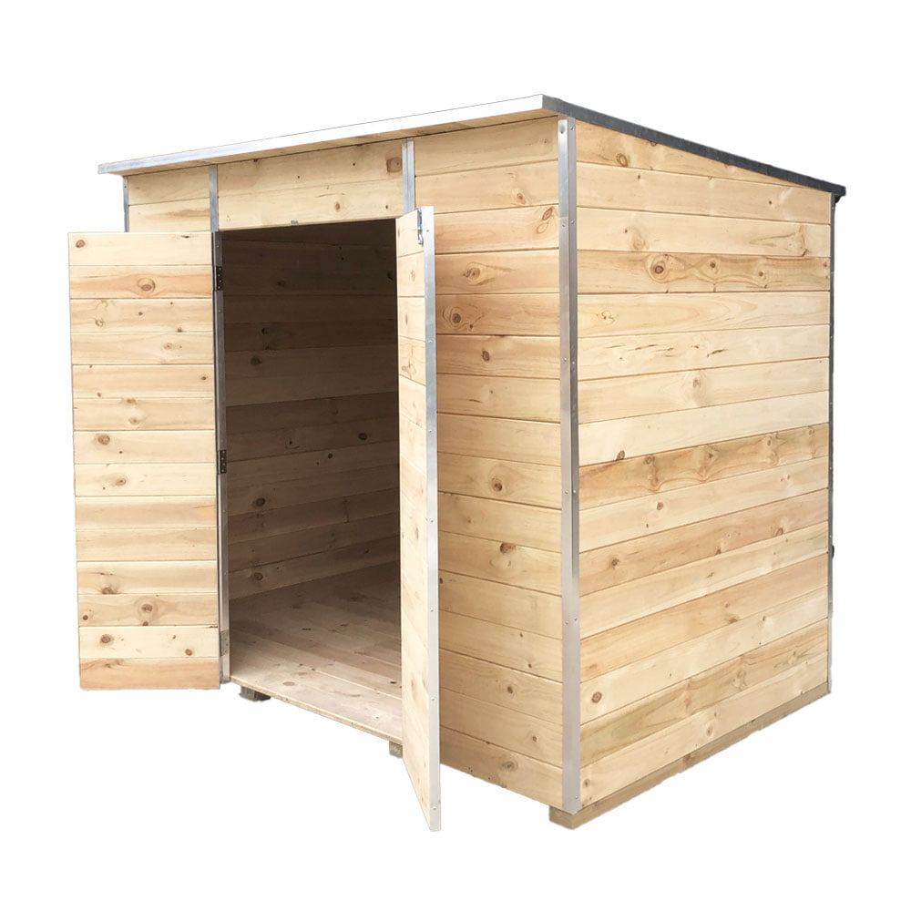 Laminata Shed 2700 2680x1710 Timber Storage Shed available at Gubba Garden Shed