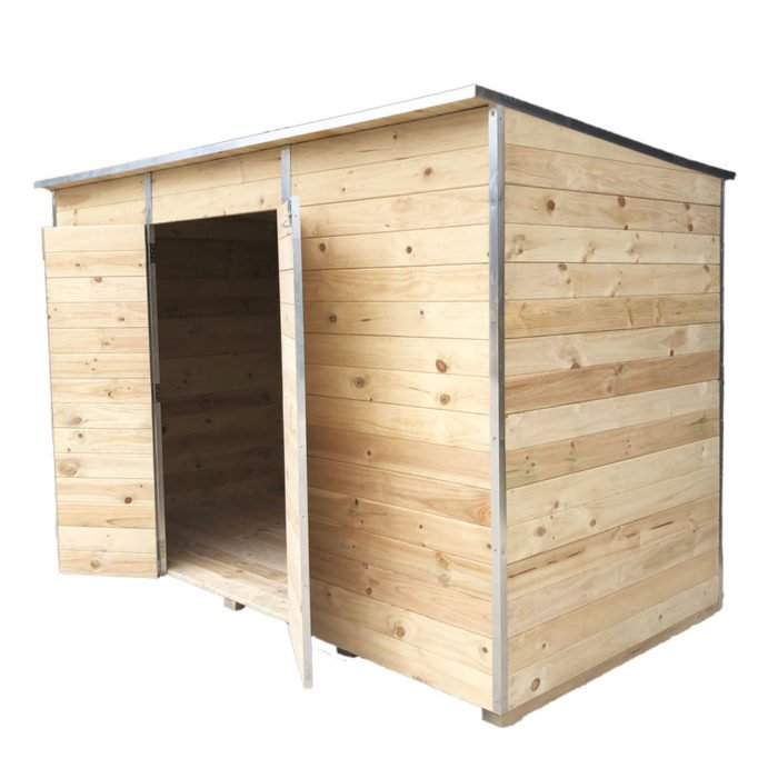 Laminata Shed 3600 Timber Storage Shed available at Gubba Garden Shed
