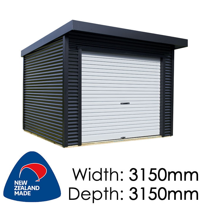 Duratuf Rural Marlborough 3150x3150 Lifestyle Shed available at Gubba Garden Shed