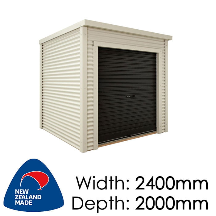 Duratuf Estate Matakana 2400x2000 Lifestyle Shed available at Gubba Garden Shed