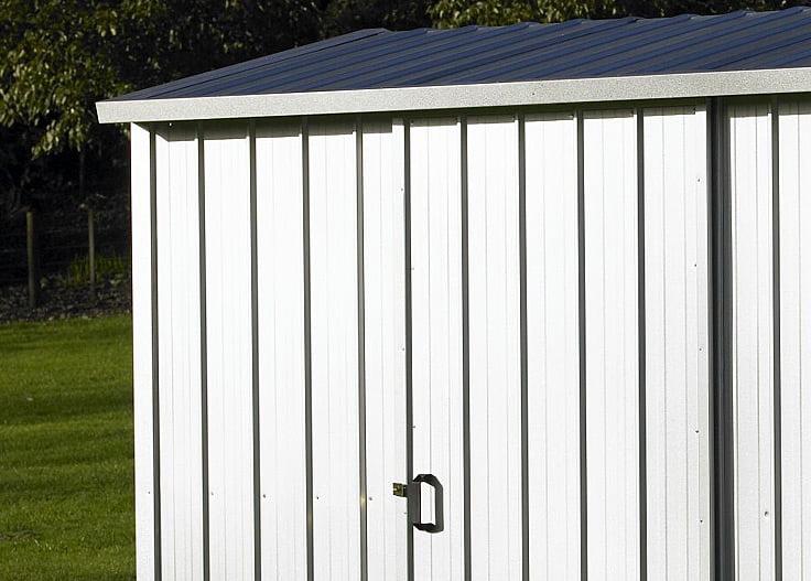 Duratuf Kiwi MK2A Zincalume 2545x2545 Garden Shed
