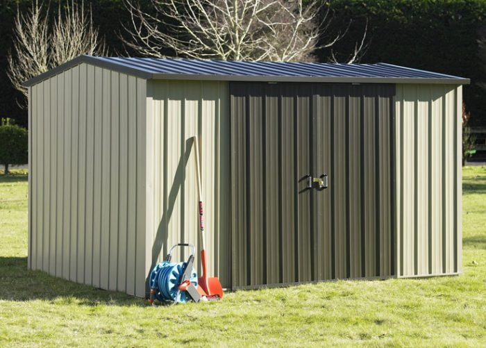 Duratuf Kiwi MK3A Garden Shed Double Sliding Door