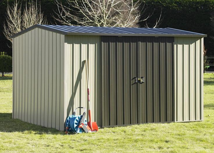 Duratuf Kiwi MK3A Garden Shed Double Sliding Door