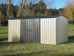 Garden Sheds NZ MK4A-Lichen-Doors-Closed-150x113