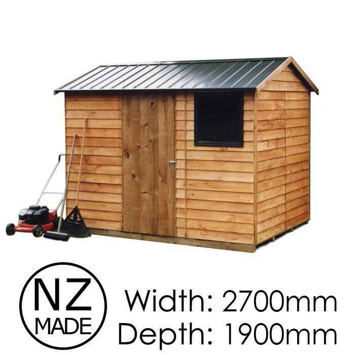 Pinehaven 2700x1900 Craigieburn Timber Garden Shed available at Gubba Garden Shed