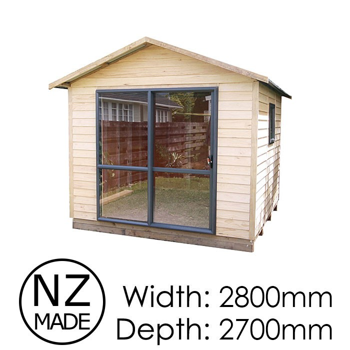Pinehaven 2800x2700 Featherston Timber Studio available at Gubba Garden Shed