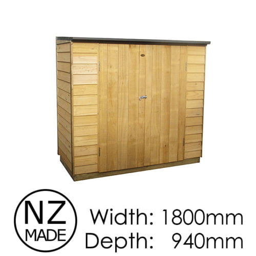 Pinehaven 1800x940 Kapiti Timber Garden Shed available at Gubba Garden Shed