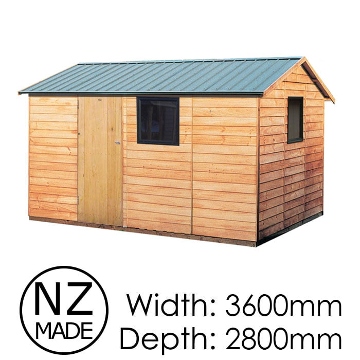 Pinehaven 3600x2800 Richardson Timber Garden Shed available at Gubba Garden Shed