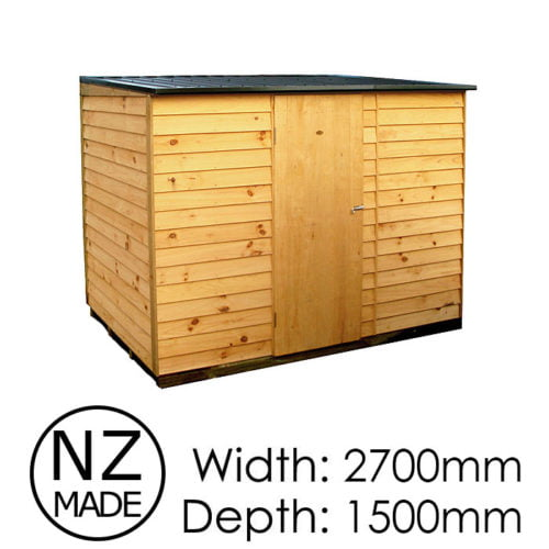 Pinehaven 2700x1500 Richmond Timber Garden Shed available at Gubba Garden Shed