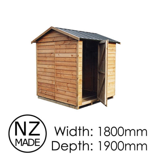 Pinehaven 1800x1900 St Arnaud Timber Garden Shed available at Gubba Garden Shed