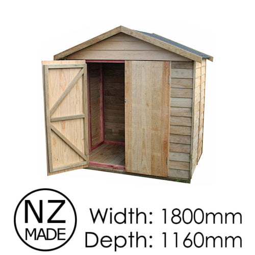 Pinehaven 1800x1160 Waiheke Timber Garden Shed available at Gubba Garden Shed