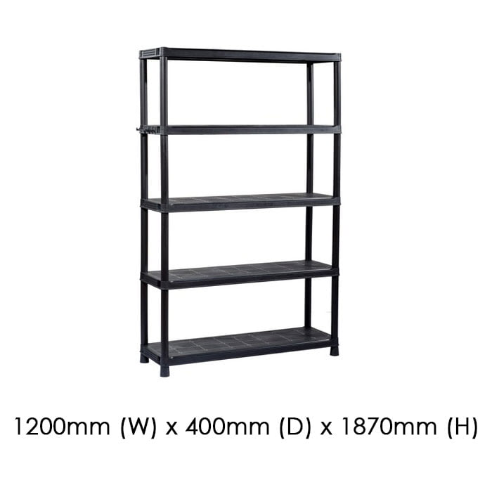 Keter 1200x400 Plus Shelf 120/5 available at Gubba Garden Shed