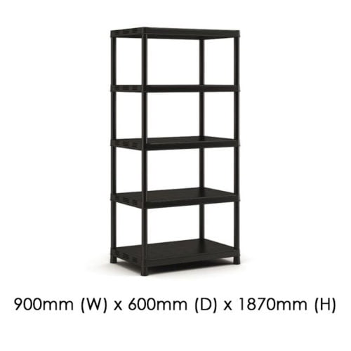 Keter 900x600 Plus Shelf XL/5 available at Gubba Garden Shed