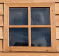 Garden Sheds NZ Rustic-Cedar-Fixed-Window