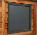 Garden Sheds NZ Rustics-Fixed-or-Opening-Window