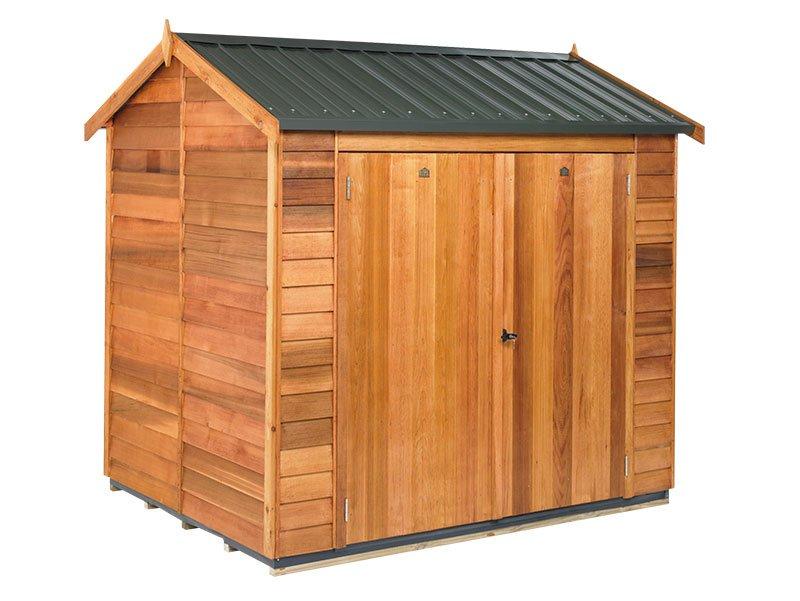 Cedar 2400x1890 Astor Timber Garden Shed available at Gubba Garden Shed
