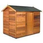 Garden Sheds NZ The-Cedar-Shed-Logan-Steel-Roof-150x150