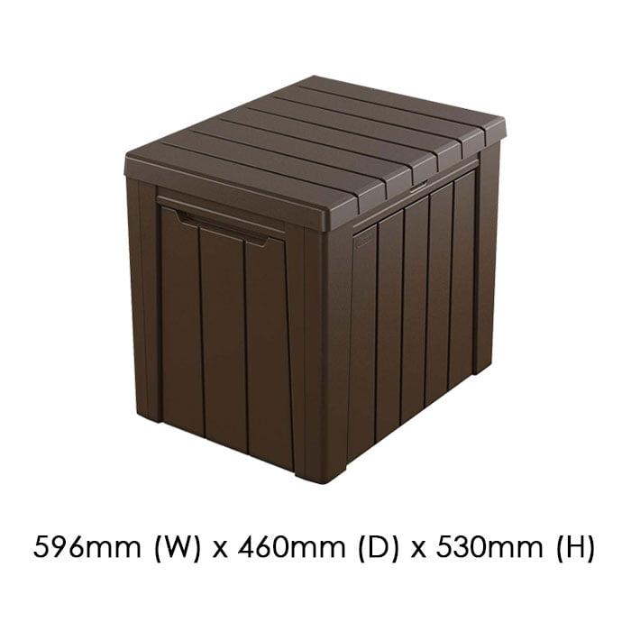 Keter 596x460 Urban Cushion Box available at Gubba Garden Shed