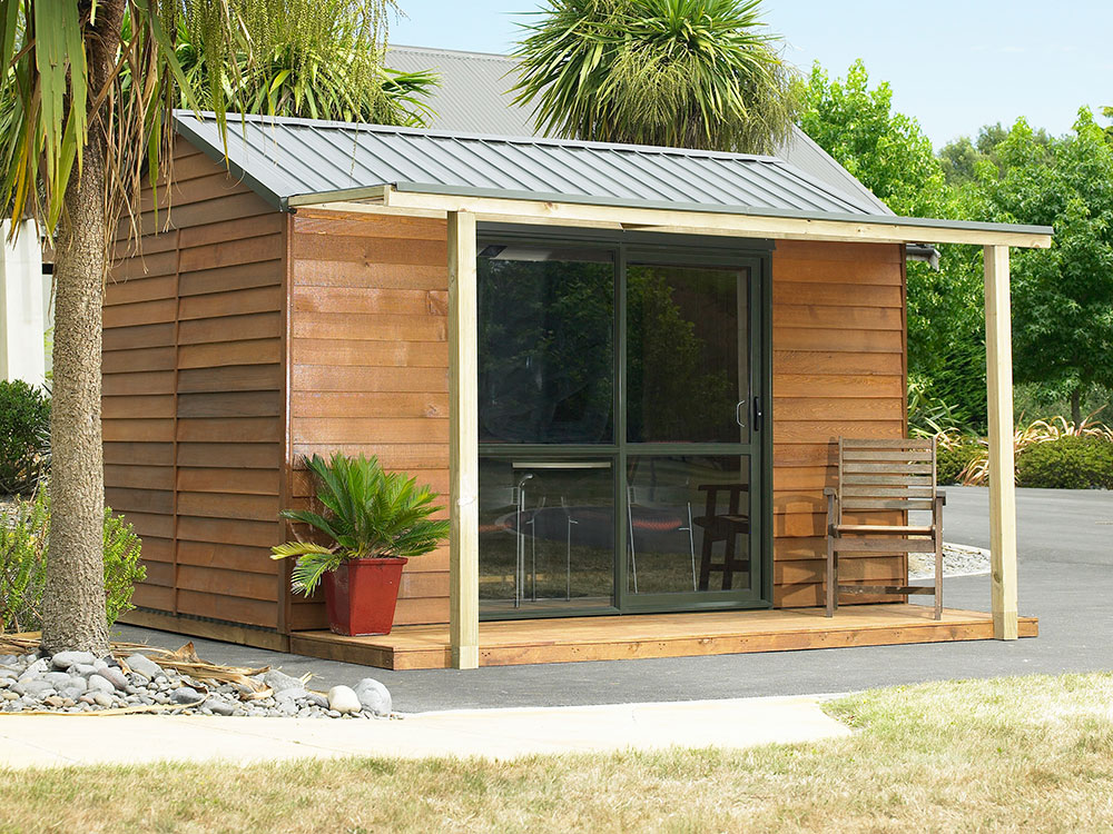 Cedar Urban Timber Garden Shed