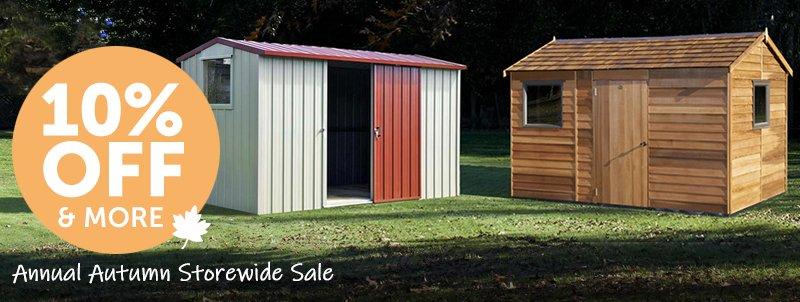 Garden Sheds NZ april-shed-sale-mobile-banner-800x302