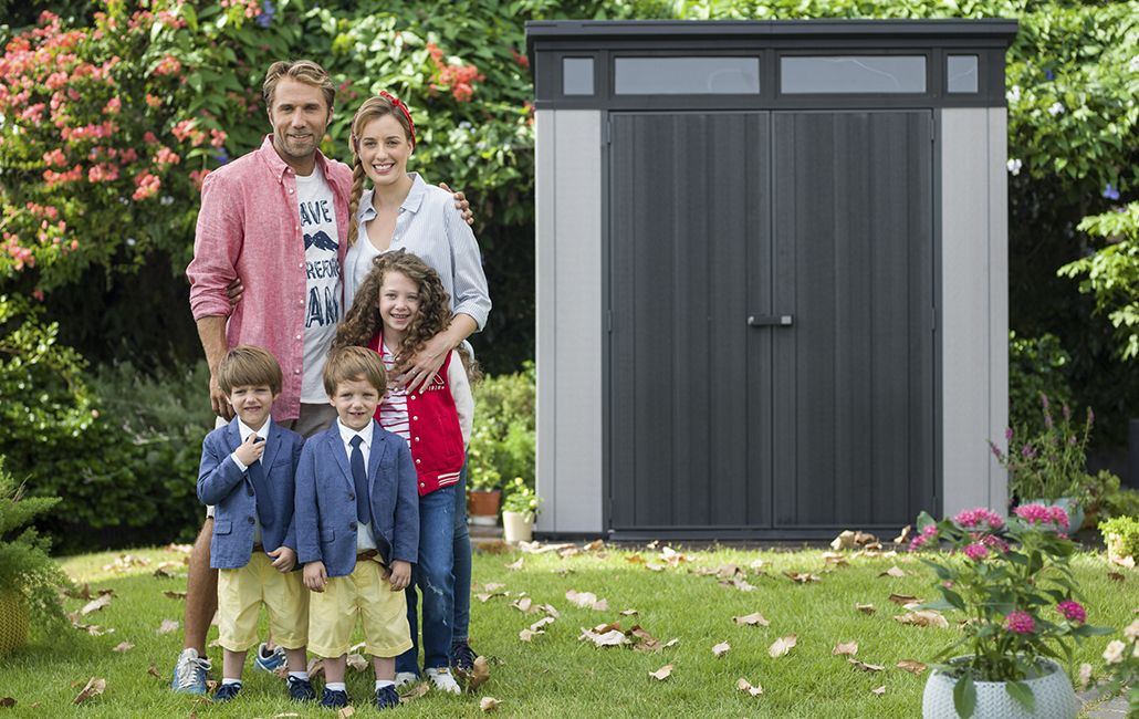 Keter Artisan 7×7 Outdoor Storage Shed