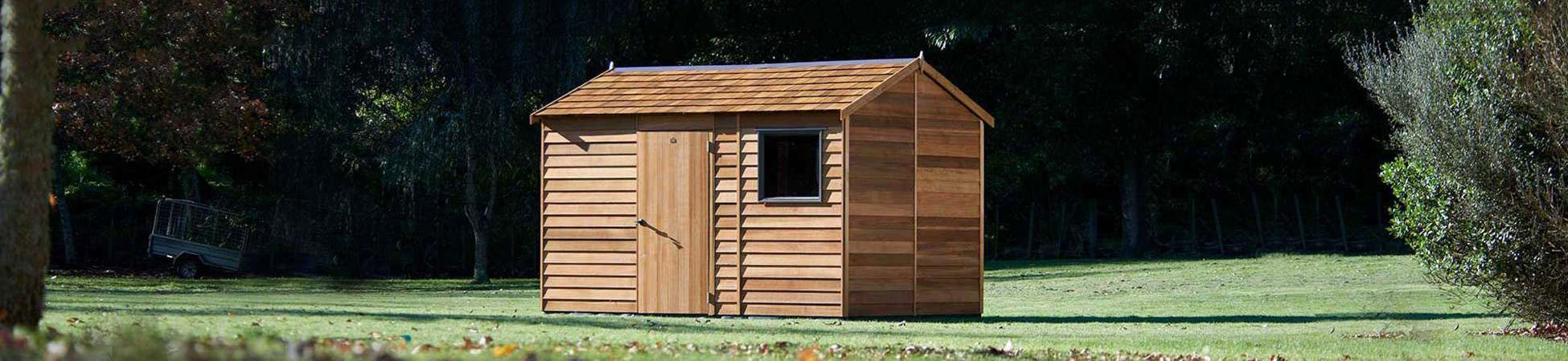 Cedar Cambridge Locker Timber Garden Shed