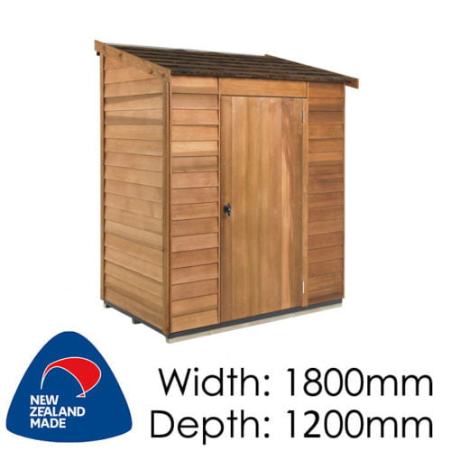 Cedar 18200x1200 Hampshire Timber Garden Shed available at Gubba Garden Shed