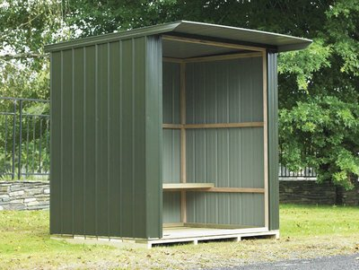 Duratuf Fortress BS 400 Bus Shelter available at Gubba Garden Shed