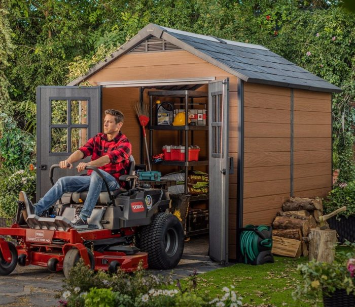 Keter Newton 759 2280x2870 Outdoor Storage Shed