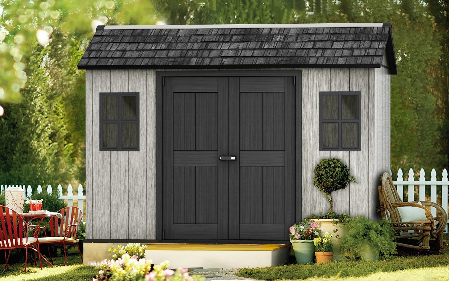 Keter Oakland 1175 3500x2290 Outdoor Storage Shed