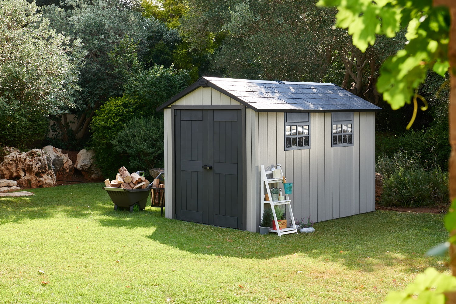Keter Oakland 7511 2290x3500 Outdoor Storage Shed