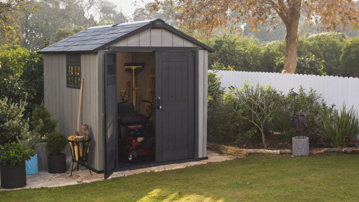 Keter Oakland 757 2290x2235 Outdoor Storage Shed