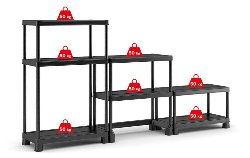 Keter 900x450 Open Base Shelving Midi