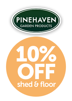 Pinehaven Makaro Timber Garden Shed