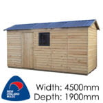 Garden Sheds NZ pinehaven-haast-timber-shed-1-150x150