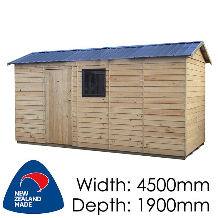 Garden Sheds NZ pinehaven-haast-timber-shed-1-700x700