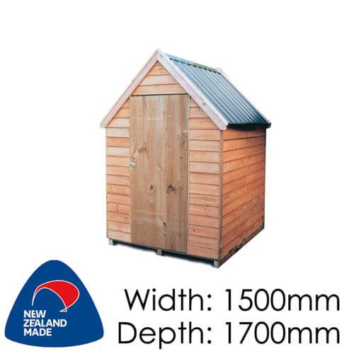 Garden Sheds NZ pinehaven-kaimai-timber-shed2-500x500