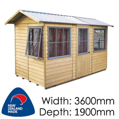 Garden Sheds NZ pinehaven-pohutukawa-timber-shed3-500x500