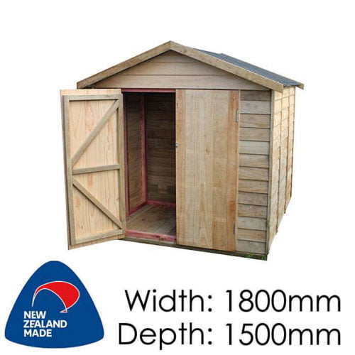 Garden Sheds NZ pinehaven-rangitoto-timber-shed-500x500