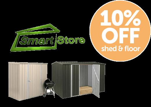 Garden Sheds NZ timber-framed-steel-sheds-smartstore-promo